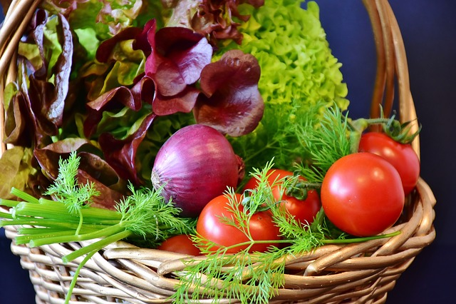 čerstvá zelenina
